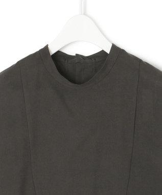 23区 【23区 lab.】サンドウォッシュシルク ボリューム ワンピース(番号S62) ブラック系