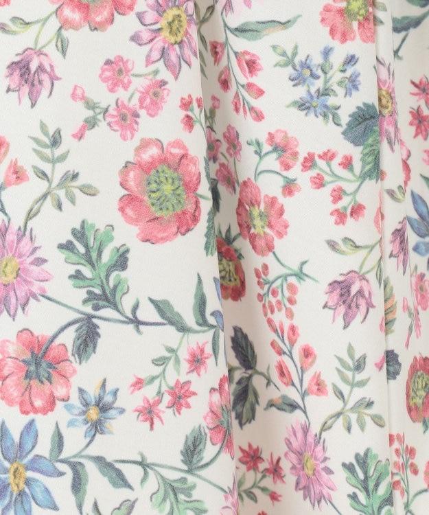 any FAM KIDS 【90-130cm】ボタニカル風花柄プリント ドッキングワンピース