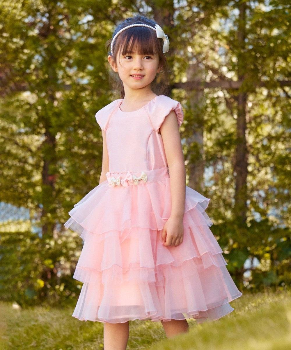 any FAM KIDS 【100-130cm】プリンセスシルエット ドレス ピンク系