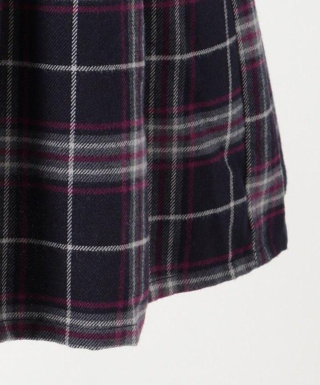 any FAM KIDS 【100-130cm】チェック ジャンパースカート