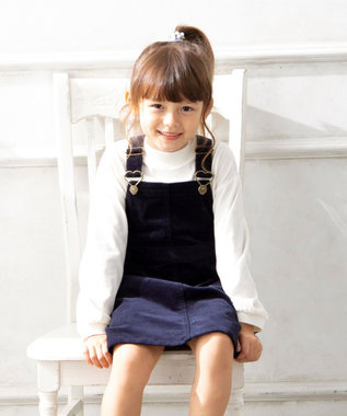 any FAM KIDS 【S-Mサイズ】コーデュロイ サロペット ネイビー系
