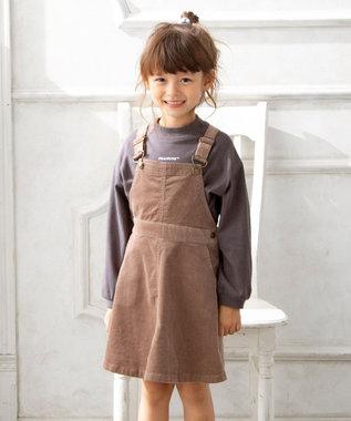 any FAM KIDS 【S-Mサイズ】コーデュロイ サロペット ベージュ系