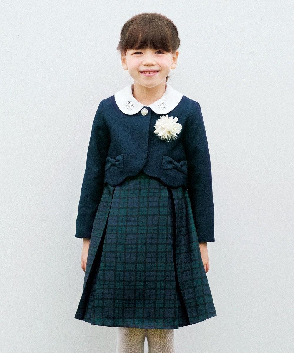 any FAM KIDS 【KIDS】セレモニー トロ ワンピース ネイビー系3