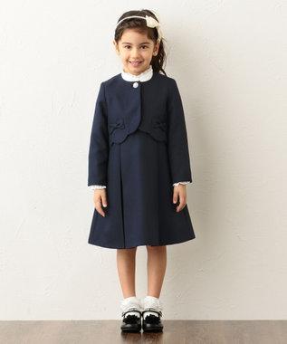 any FAM KIDS 【KIDS】セレモニー トロ ワンピース ネイビー系