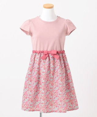 any FAM KIDS 【140‐150cm】オリジナル花柄プリント ワンピース ピンク系5