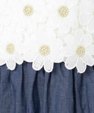 any FAM KIDS 【140‐150cm】デイジー ワンピース ホワイト系