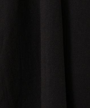 any FAM シルキーリネンノースリーブ ワンピース ブラック系
