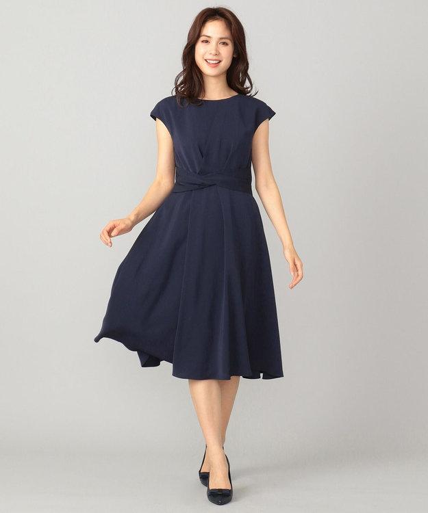 any FAM 【セレモニー】アシンメトリータック ドレス