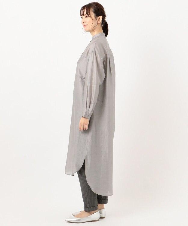 any FAM 【WEB限定】シアーシャツ ワンピース