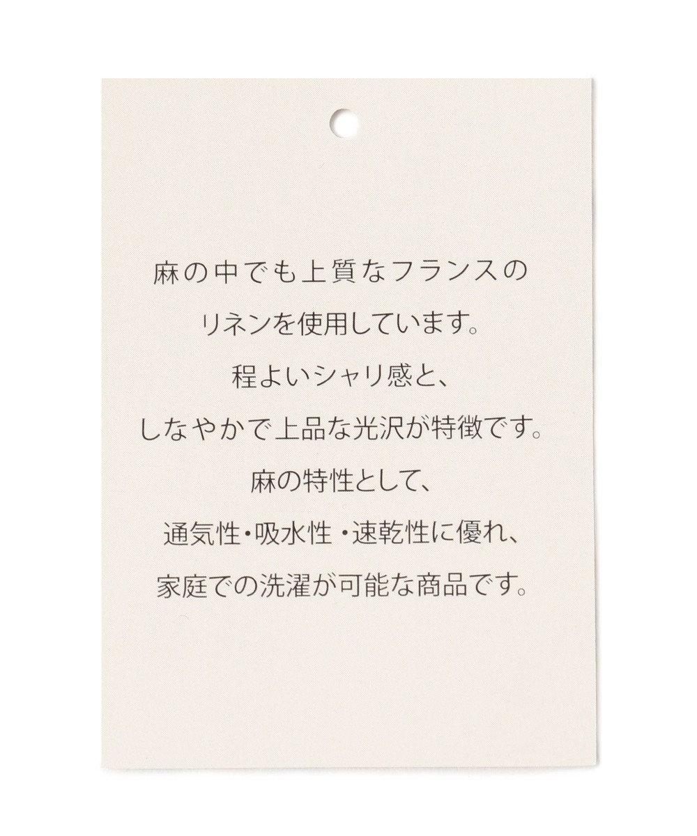 any FAM 【洗える】テンセルリネンデニム サロペット ネイビー系