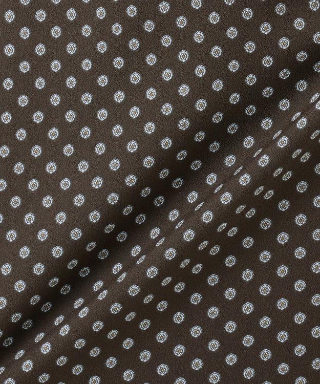 J.PRESS LADIES 【洗える】アンティークデシン小紋プリント ワンピース