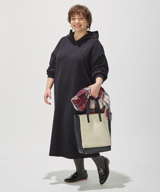 J.PRESS LADIES S 【洗える】KATE WOOL ニット ワンピース