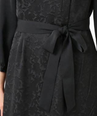 J.PRESS LADIES TRオパール ワンピース ブラック系5
