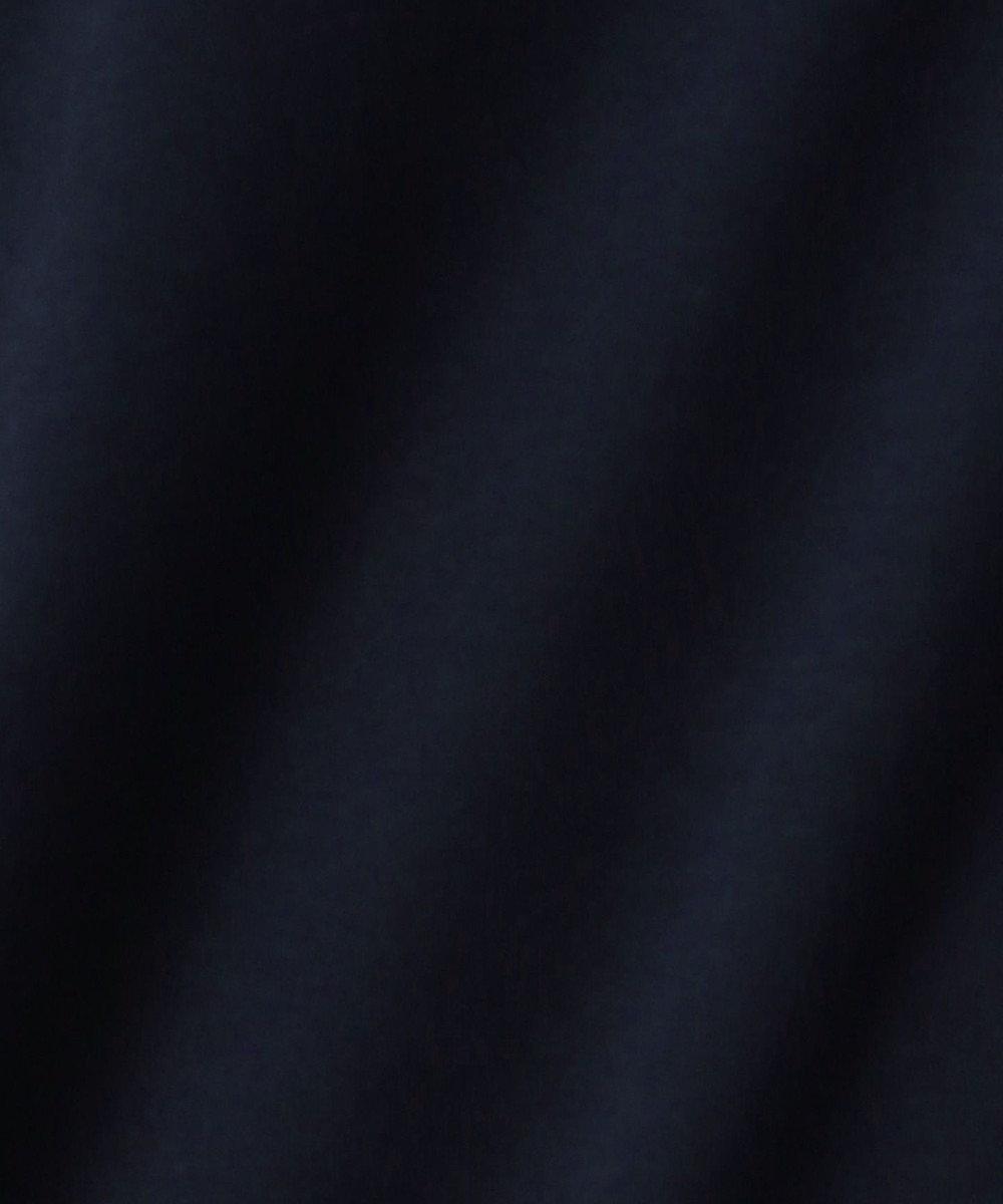 J.PRESS LADIES S 【消臭効果・接触冷感】コンパクトコットンスムース ワンピース ネイビー系