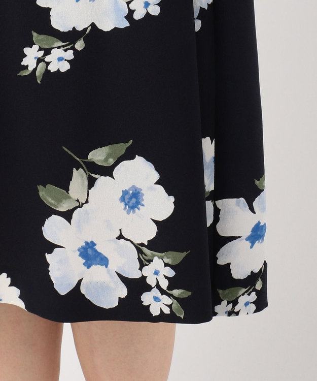 J.PRESS LADIES S 【洗える】Vintage Floral Print ワンピース