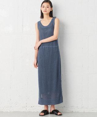 JOSEPH 【JOSEPH STUDIO】ラタンニット ドレス ダルブルー系