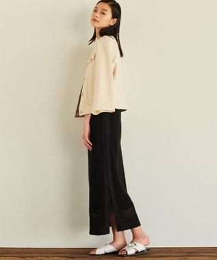 JOSEPH 【JOSEPH STUDIO】ラタンニット ドレス ブラック系