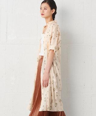 JOSEPH 【JOSEPH STUDIO・洗える】キュビズムプリント シャツドレス アイボリー系5