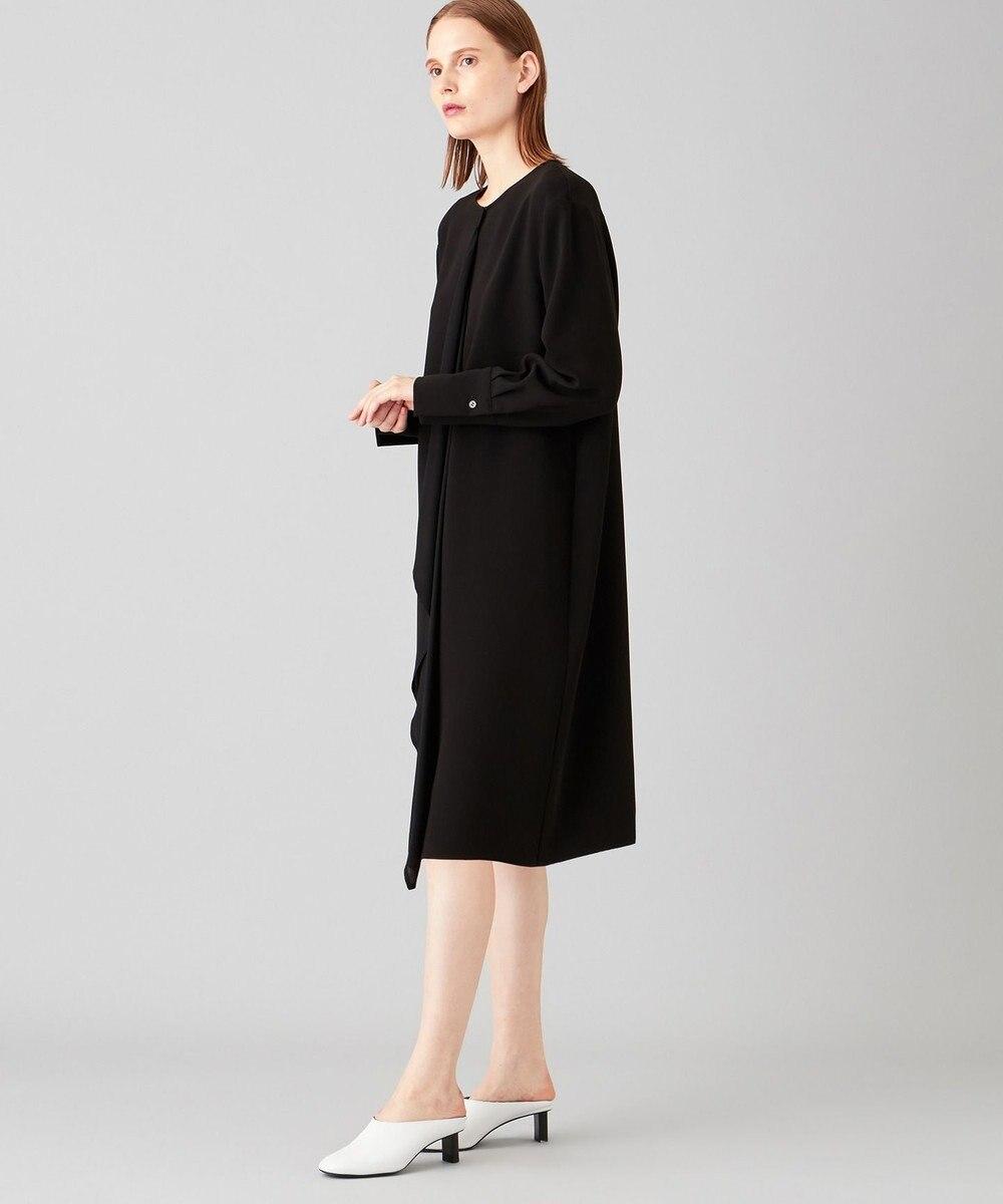 JOSEPH トリアセダブルクロス ドレス ブラック系