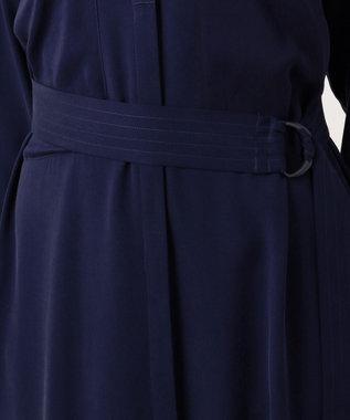 JOSEPH 【WEB限定カラーあり】RENT / シルクツイルストレッチ ドレス / ワンピース [WEB限定]ネイビー系