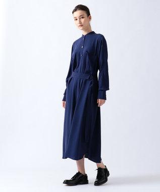 JOSEPH 【WEB限定カラーあり】RENT / シルクツイルストレッチ ドレス / ワンピース カーキ系