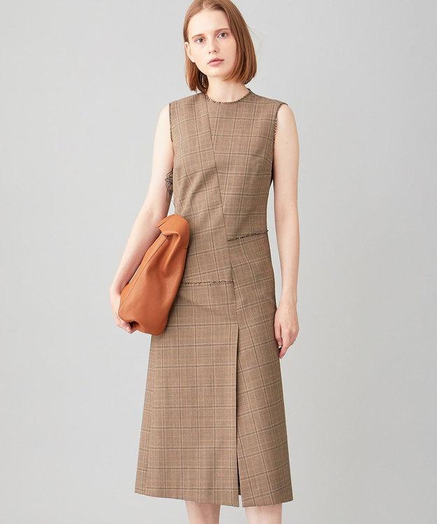 JOSEPH グレンプレイド ドレス