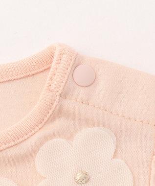 組曲 KIDS 【BABY】カミーユスムース ワンピース ピンク系