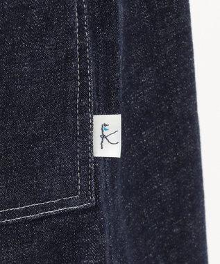 組曲 KIDS 【150-160cm】フロントボタン ワンピース(ネイビー) ネイビー系