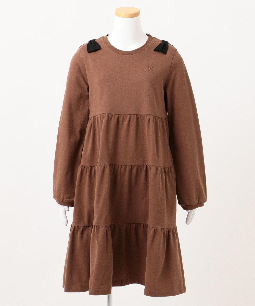 組曲 KIDS 【WEB限定/150-160cm】7days one piece ブラウン系
