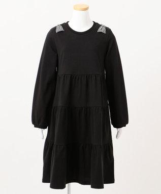 組曲 KIDS 【WEB限定/150-160cm】7days one piece ブラック系