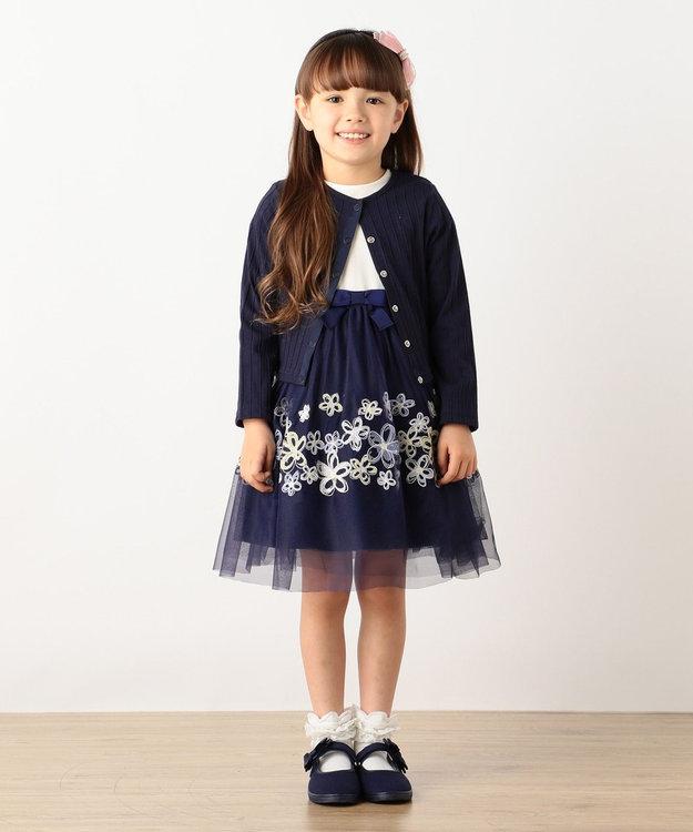 組曲 KIDS 【SCHOOL】フルールブロデュリードレス ワンピース