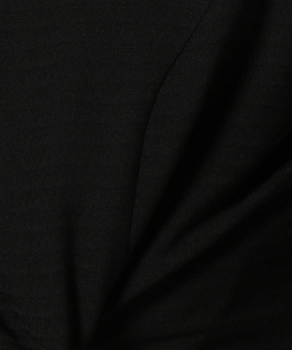 自由区 FORMAL 【前あき】ジェイドボーダー ワンピース ブラック系