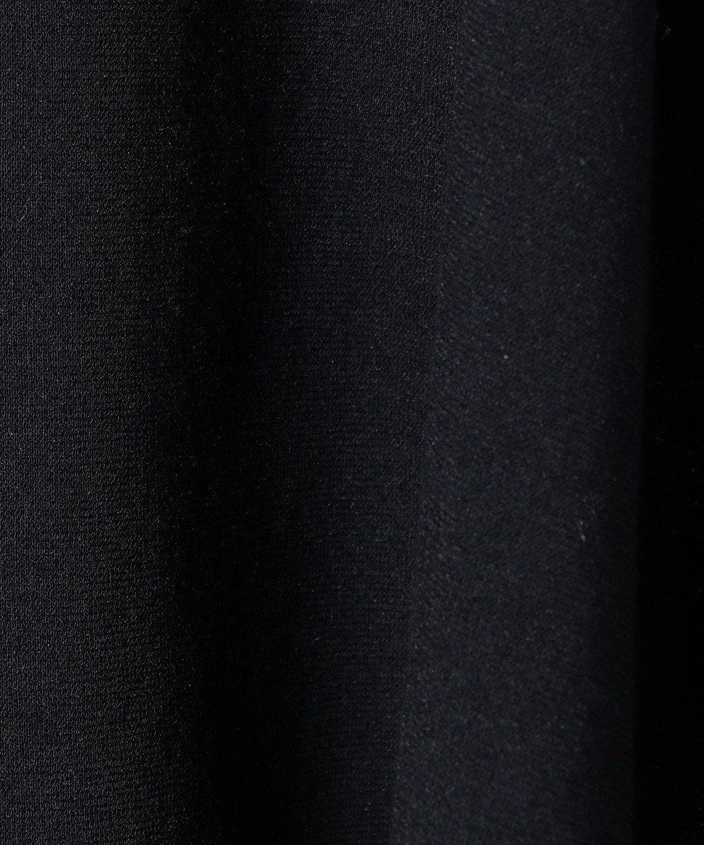 組曲 KIDS 【TODDLER】60/ー度詰めポンチ ワンピース ネイビー系