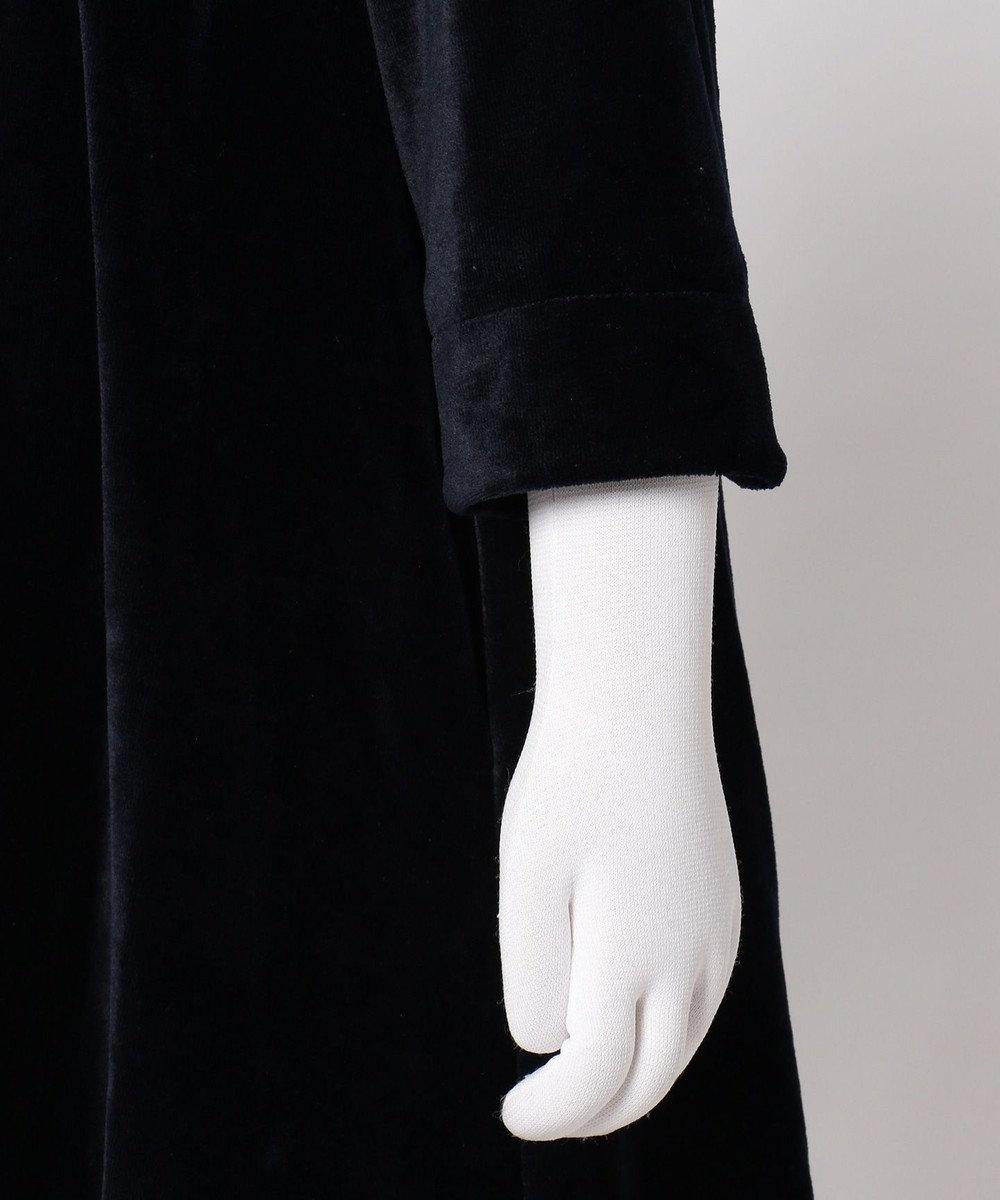組曲 KIDS 【TODDLER】ベルベット ワンピース ネイビー系