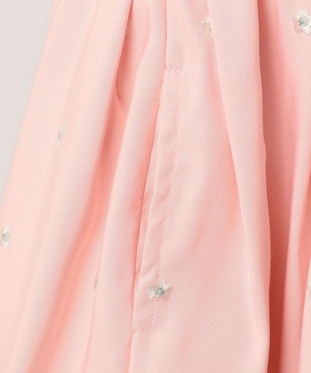 組曲 KIDS 【100~140cm】グログラン刺繍 ワンピース