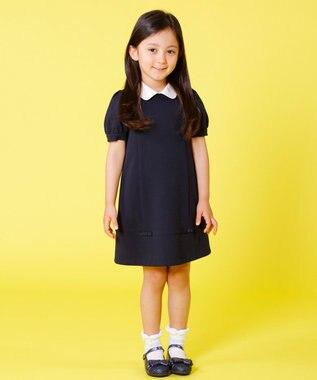 組曲 KIDS 【TODDLER】ジャージーワンピース ネイビー系
