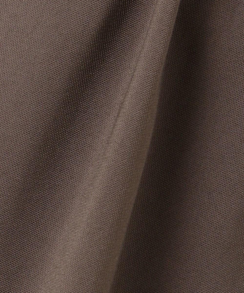SHARE PARK LADIES 【洗える】ウエストマークシャツワンピース ブラウン系