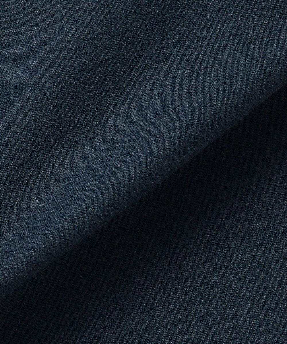 SHARE PARK LADIES 【6/21お値下げ】リネン混シャツ ワンピース ネイビー系