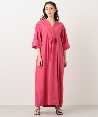 #Newans 【マガジン掲載】KATIE/ エスニックテイストワンピース(番号NF54) ピンク系