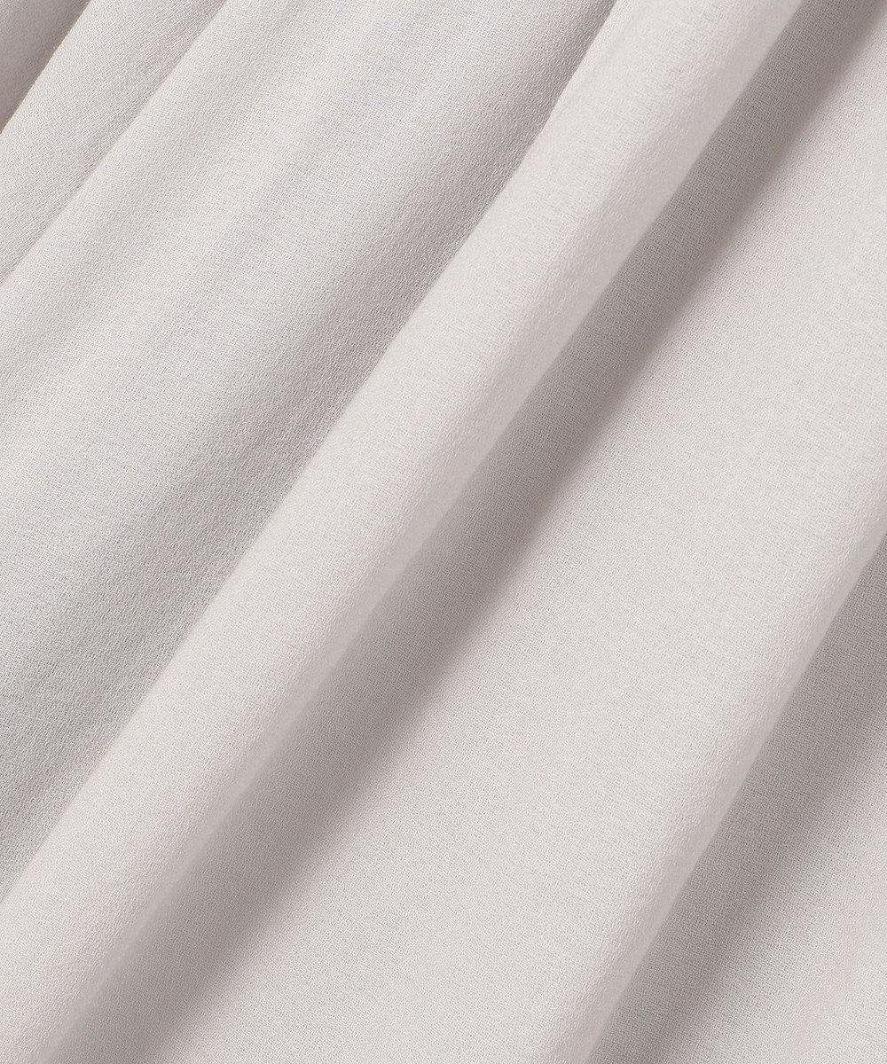 #Newans 【マガジン掲載】ハイツイストガウンワンピ―ス(番号NF35) アイスグレー系
