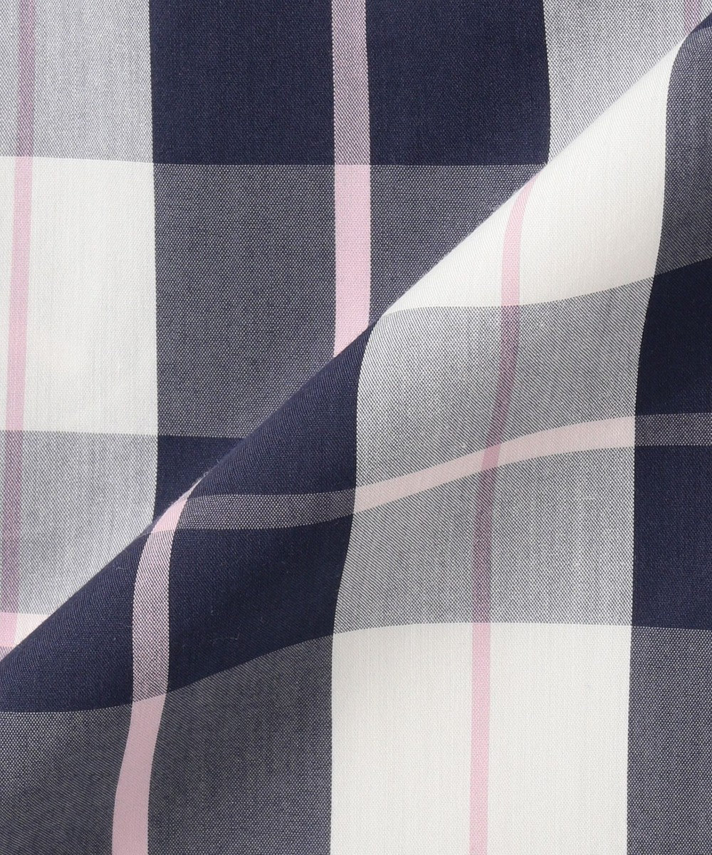 Feroux 【ベルト付き・洗える】ベルトポイント ワンピース ネイビー系5