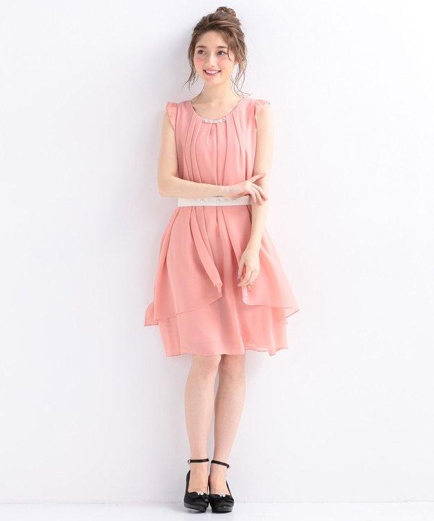 Feroux 【洗える】3WAYラッフル ドレス