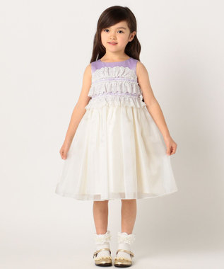 TOCCA BAMBINI 【KIDS】PRINCESS LACE ドレス ライラック系