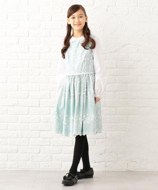 TOCCA BAMBINI 【SCHOOL】PetitGalet ワンピース サックスブルー系7