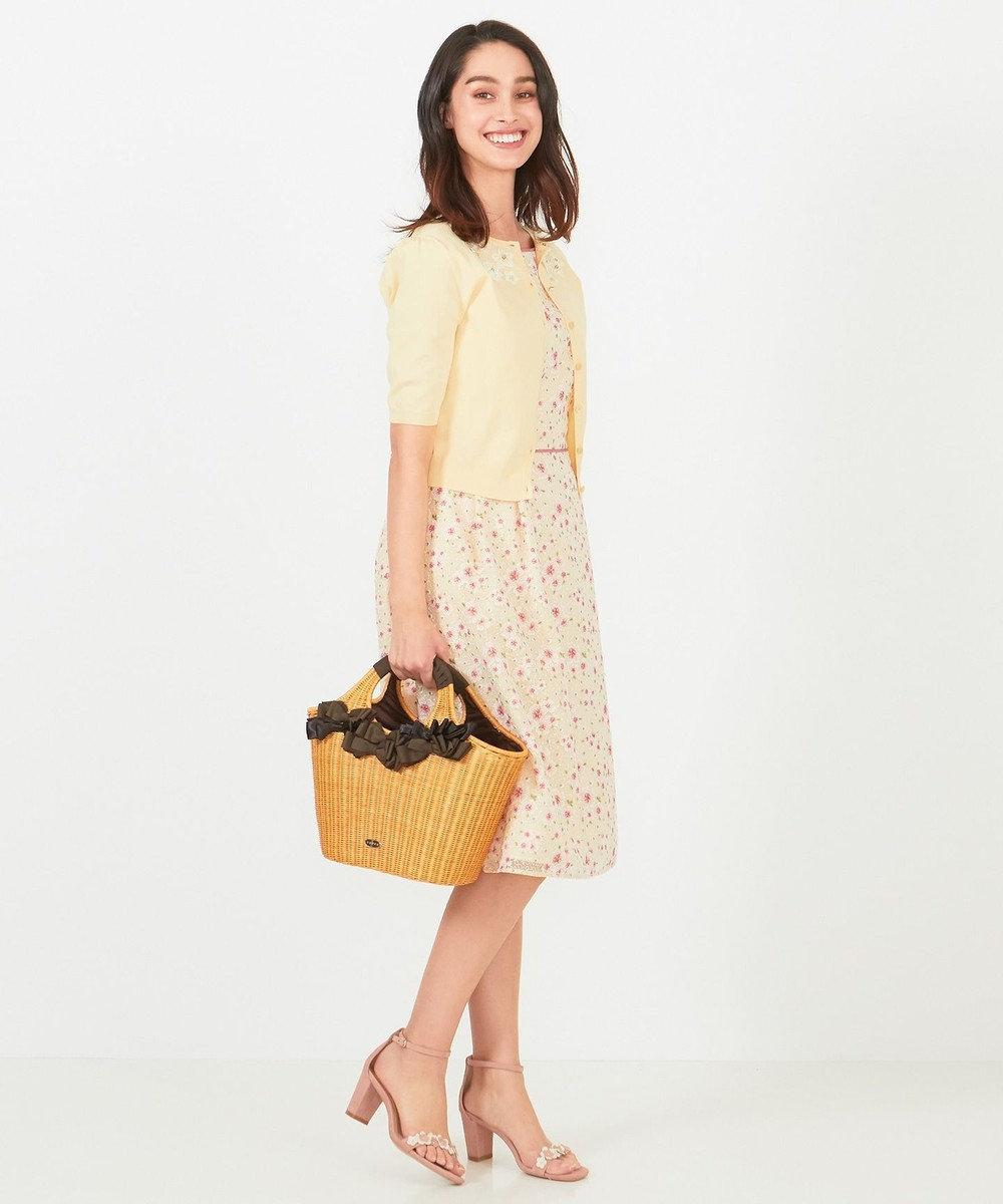 TOCCA 【洗える!】TRUMPET FLOWER ドレス イエロー系7