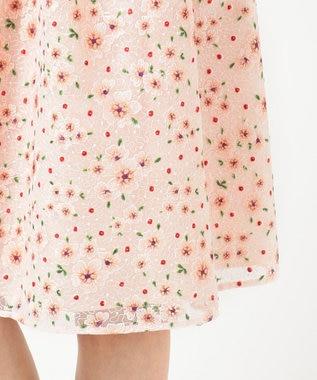 TOCCA 【洗える!】TRUMPET FLOWER ドレス ピンク系7