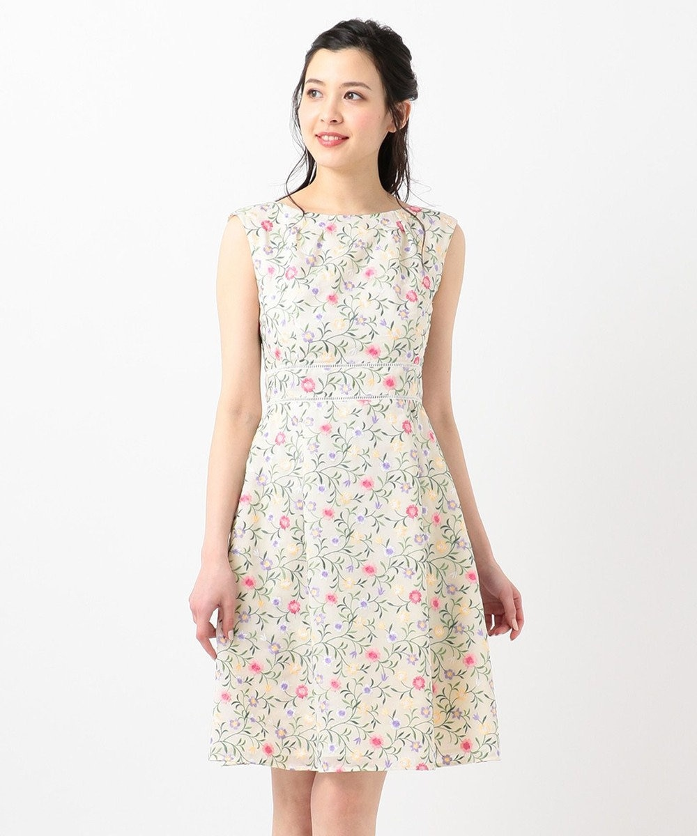 TOCCA 【洗える!】FLOWER FRIENDS ドレス アイボリー系7