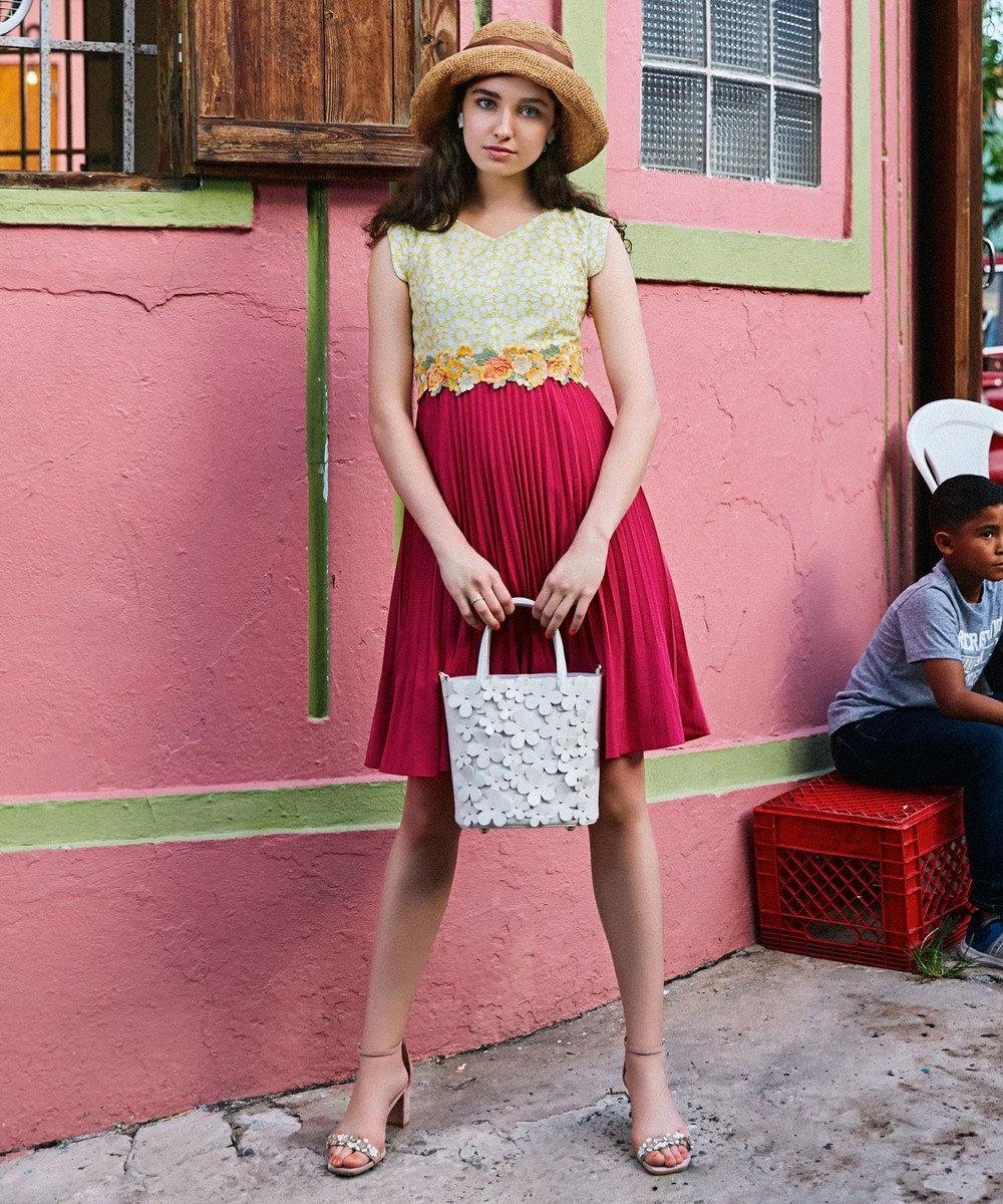 TOCCA 【洗える!】PINK BOUQUET GIRL ドレス ピンク系
