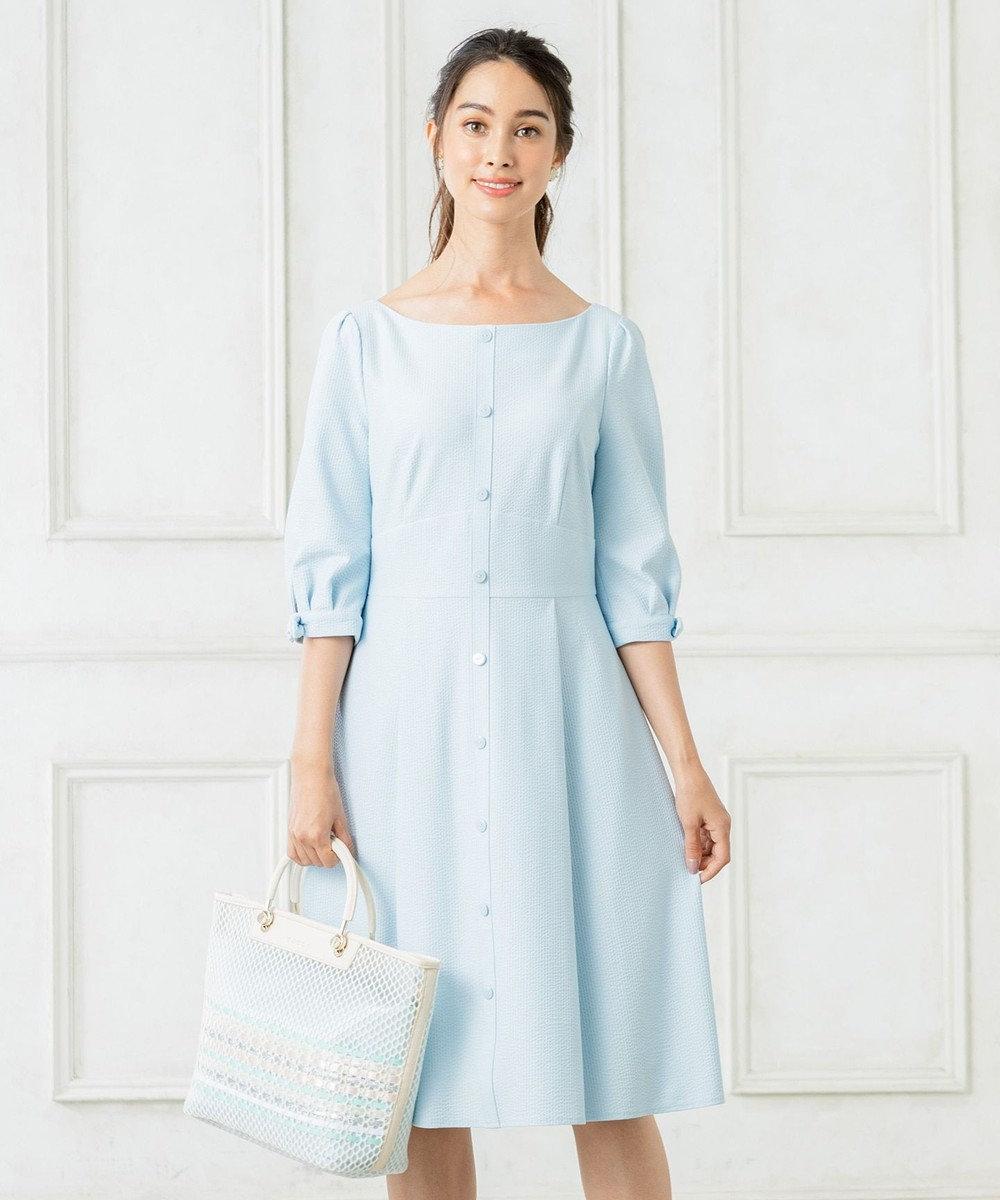 TOCCA 【洗える!】ROMEO ドレス スカイブルー系