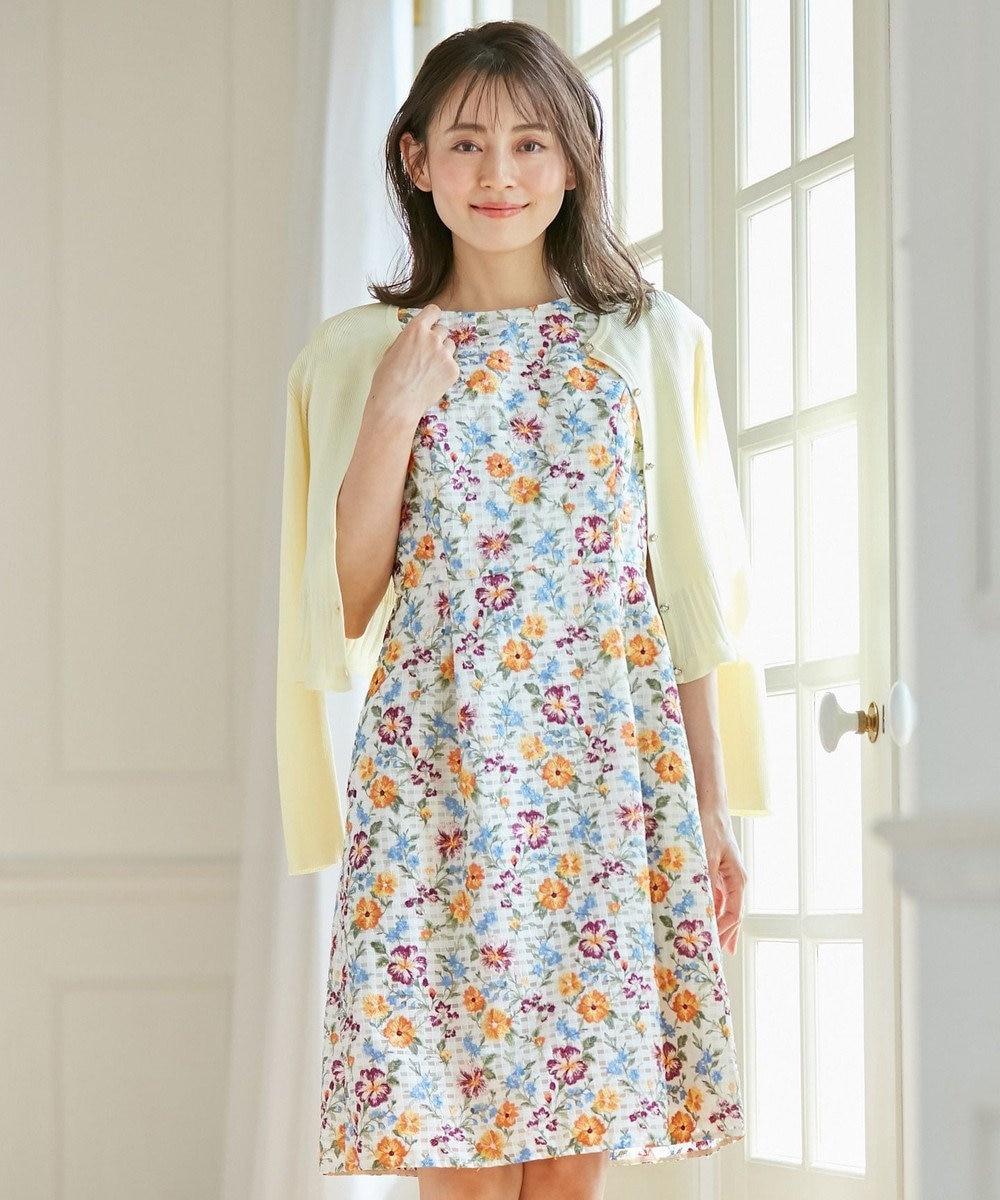TOCCA 【洗える!】SPRING BOUQUET ドレス アイボリー系7